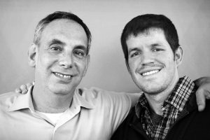 Dave Isay and Brandon Stanton. Photo courtesy StoryCorps.
